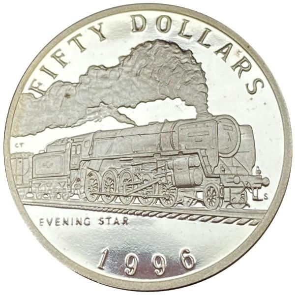50$ MARSHALL ISLANDS 1996 - Evening Star