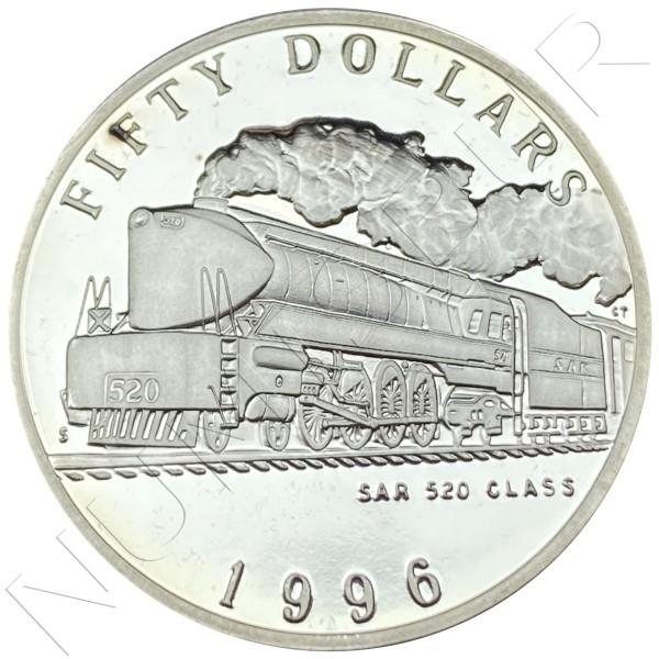 50$ MARSHALL ISLANDS 1996 - SAR 520 CLASS