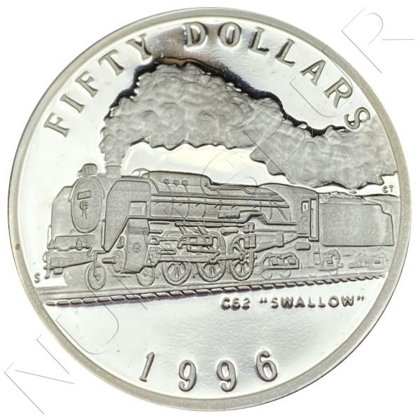 "50$ MARSHALL ISLANDS 1996 - C62 ""Swallow"""