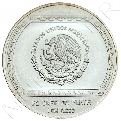 2 pesos MEXICO 1993 - Bajorrelieve Del Tajin