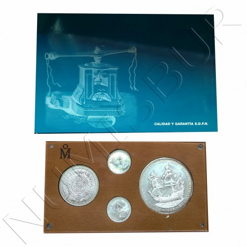 MEXICO - Felipe II | IV Centenario de la casa moneda Mexico 1998