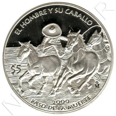 5 pesos MEXICO 2000 - Death pass