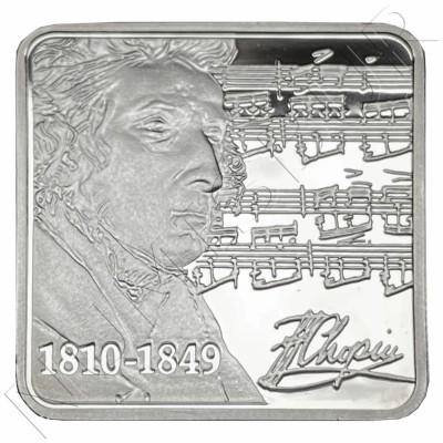 1$ NIUE ISLANDS 2010 - Frédéric Chopin