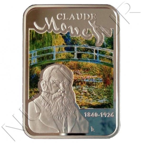 1$ NIUE ISLANDS 2010 - Claude Monet