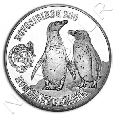 1$ VIRGIN ISLANDS 2017 - Pingüino Humboldt