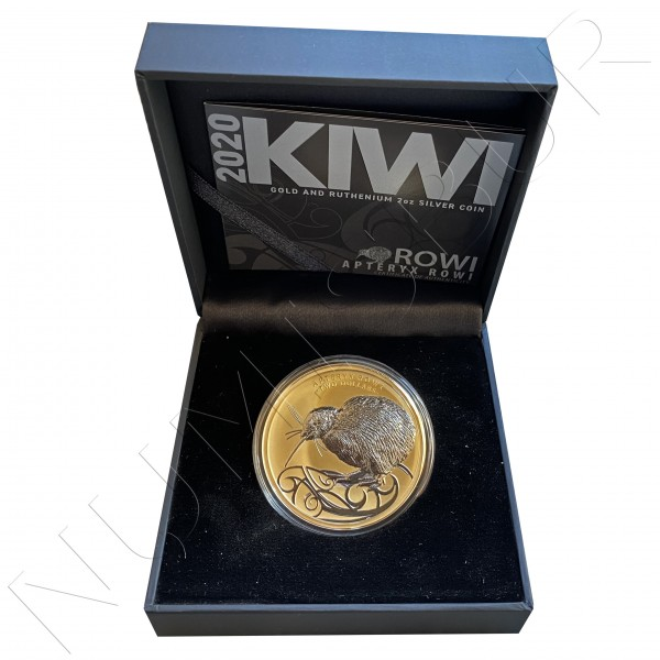 2$ NEW ZELAND 2020 - KIWI (700 pieces WW)
