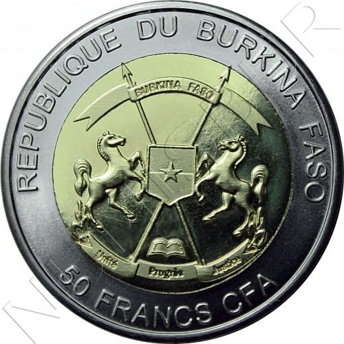 50 francs 2017 BURKINA FASO - Andrea Doria