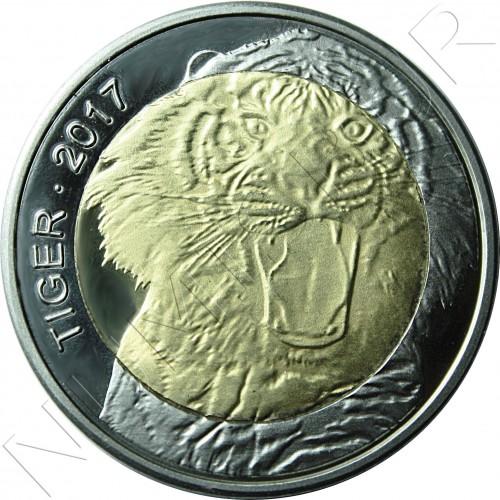 50 francs 2017 BURKINA FASO - Tigre