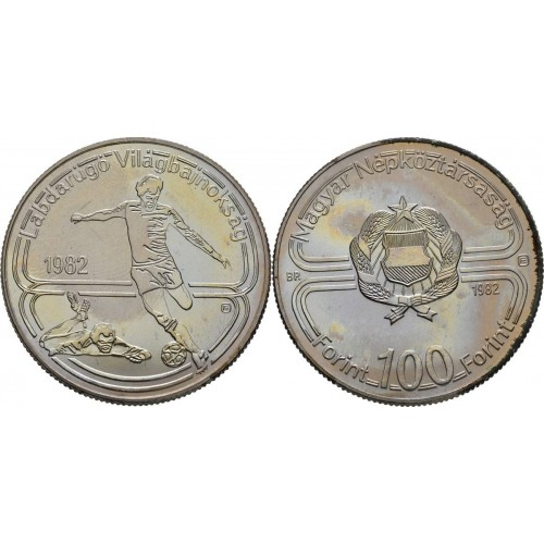 100 forint HUNGARY 2018 - Football Worldcup