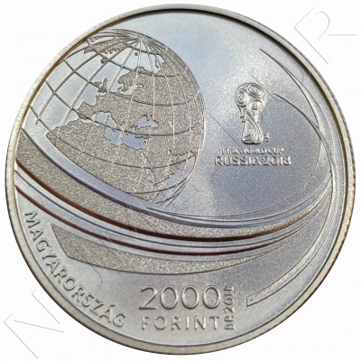 2000 forints HUNGARY 2018 - FIFA World Cup
