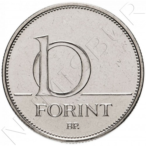 10 forint HUNGARY 2020 - Tribute to the heroes