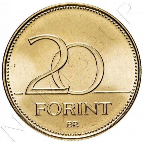 20 forint HUNGARY 2020 - Tribute to the heroes