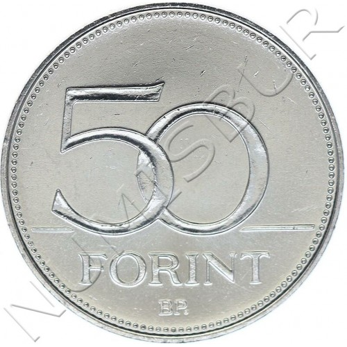 50 forint HUNGARY 2020 - 150 years of organized Hungarian Fire Service