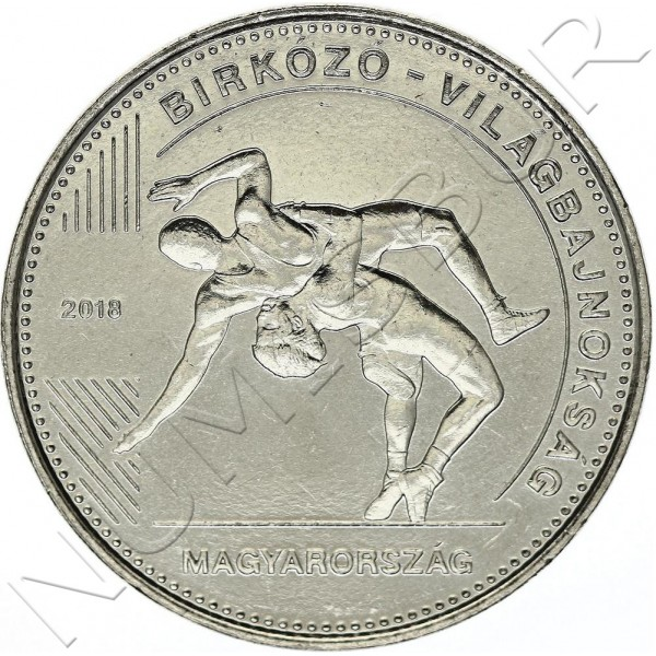 50 forint HUNGARY 2018 - World wrestling championship