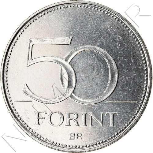 50 forint HUNGARY 2018 - Year of the family