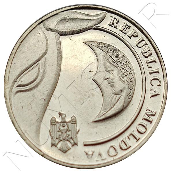 1 leu REPUBLIC OF MOLDOVA 2018