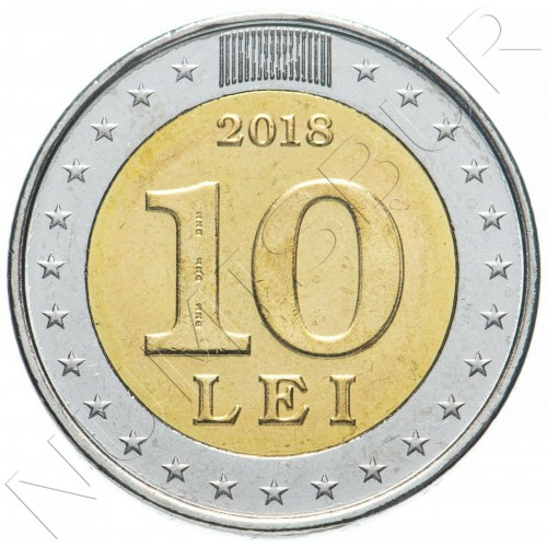 10 lei MOLDOVA 2018 - 25 years of the National currency