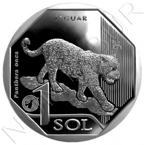1 sol PERU 2018 - Jaguar