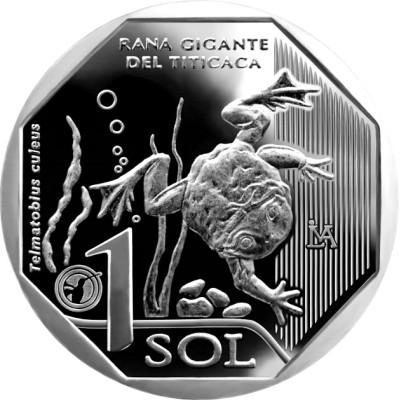 1 sol PERU 2019 - Giant Frog of Titicaca