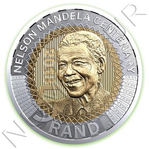 5 rand SUDRAFRICA 2018 - Nelson Mandela