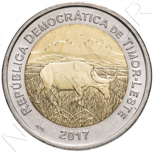 200 centavos TIMOR LESTE 2017 - Cow