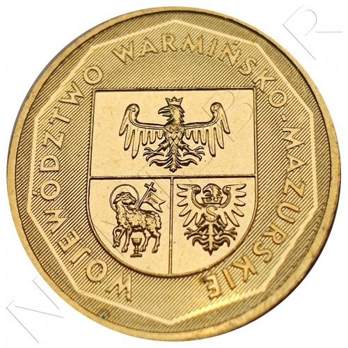 2 zl POLAND 2004 - Województwo Warmińsko-Mazurskie