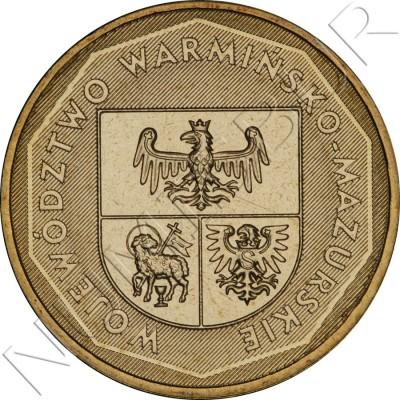 2 zl POLONIA 2005 - Warmińsko-mazurskie