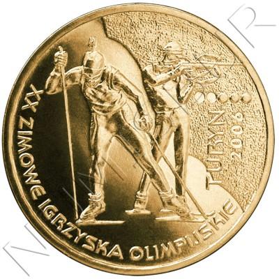 2 zl POLONIA 2006 - XX Juegos Olímpicos de Invierno