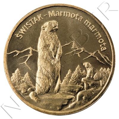 2 zl POLONIA 2006 - Marmota