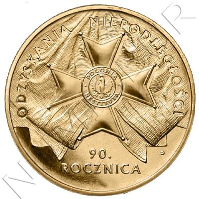 2 zl POLONIA 2008 - 90º aniv de la recuperación de la independencia