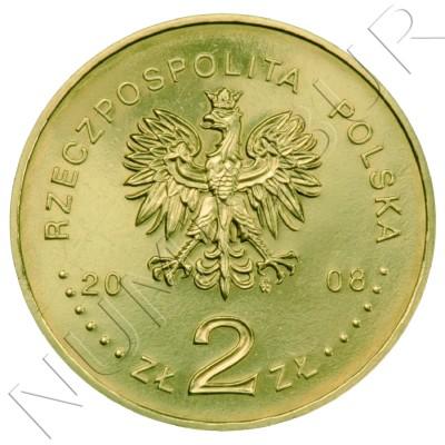 2 zl POLONIA 2008 - Bronisław Piłsudski