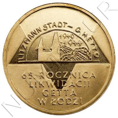 2 zl POLONIA 2009 - 65º aniv de la Liquidación del Gueto de Lodz