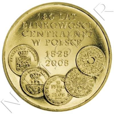 2 zl POLONIA 2009 - 180 Años de Banca Central en Polonia