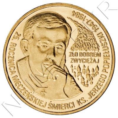 2 zl POLONIA 2009 - 25º aniversario de la muerte del padre Jerzy Popiełuszko