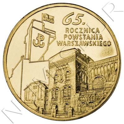 2 zl POLONIA 2009 - 65º Aniversario del Levantamiento de Varsovia