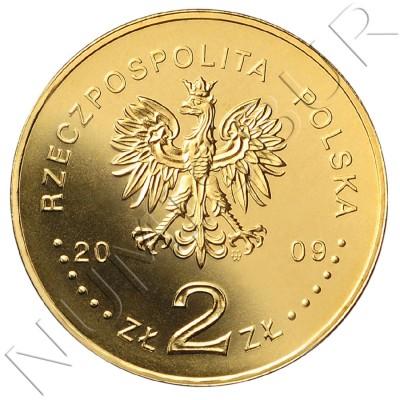 2 zl POLONIA 2009 - 95 aniv. de la primera compañía