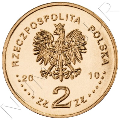 2 zl POLONIA 2010 - Guardia Imperial de Napoleón I