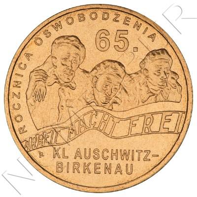 2 zl POLONIA 2010 - 65 aniv de la liberación del KL Auschwitz-Birkenau