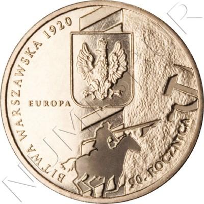 2 zl POLONIA 2010 - 90º aniversario de la batalla de Varsovia
