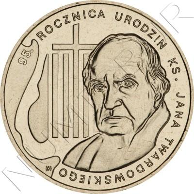 2 zl POLONIA 2010 - 95 aniv del nacimiento Jan Twardowski