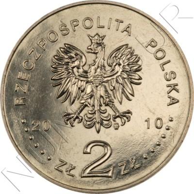 2 zl POLONIA 2010 - Agosto Polaco de 1980