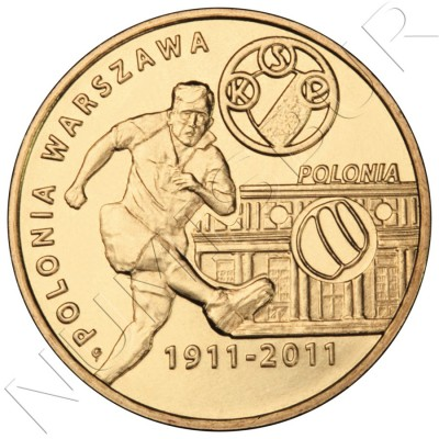2 zl POLONIA 2011 - Clubes de fútbol polacos