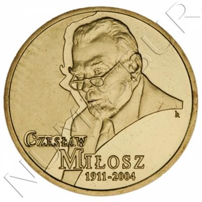 2 zl POLONIA 2011 - Poeta Czesław Miłosz