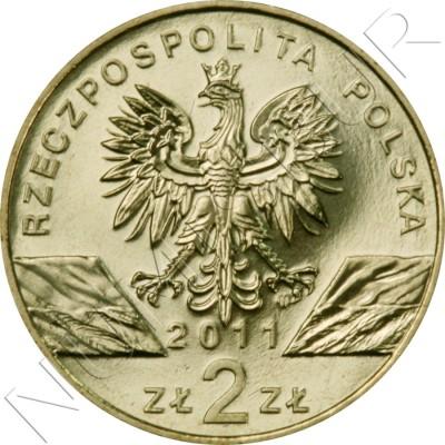 2 zl POLONIA 2011 - Tejon europeo