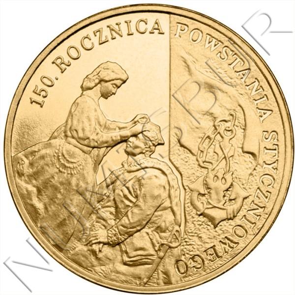 2 zl POLONIA 2013 - 150º aniv. Sublevación de 1863