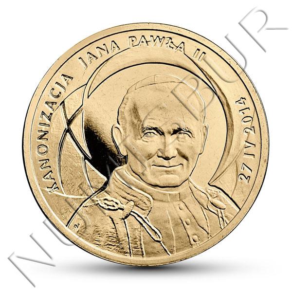 2 zl POLONIA 2014 - Papa JUAN PABLO II