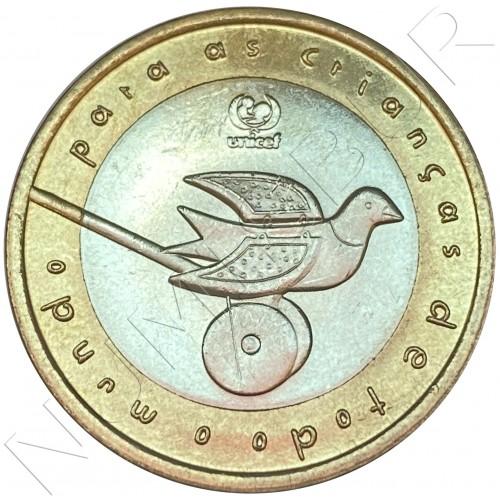 200 escudos PORTUGAL 1999 - UNICEF