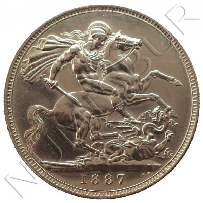 Crown GREAT BRITAIN 1877 - PROOF