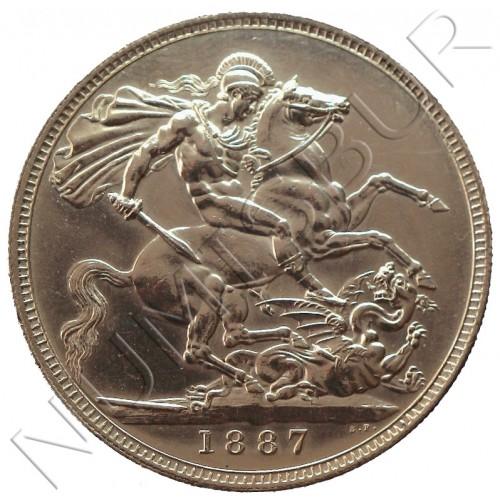 Crown GRAN BRETAÑA 1877 - PROOF