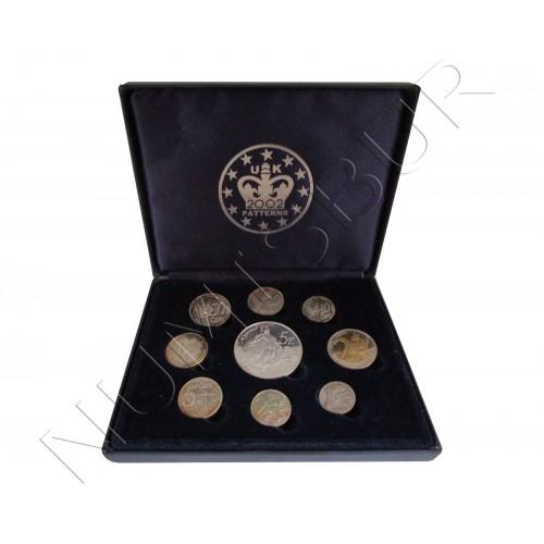 Euroset REINO UNIDO 2002 - Prueba euros
